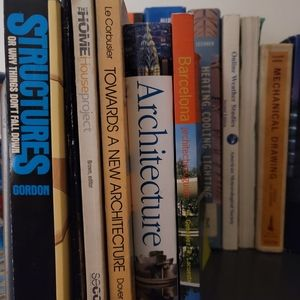 Lot of Architecture School Textbooks